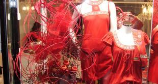 Escaparate de Moda Señora en Madrid