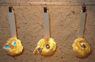 Escaparate de joyería creado por Miguel Pizarro