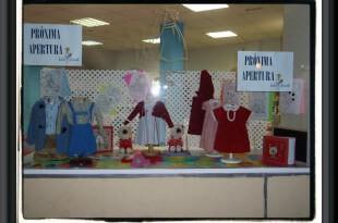 Escaparate moda infantil por sasasari