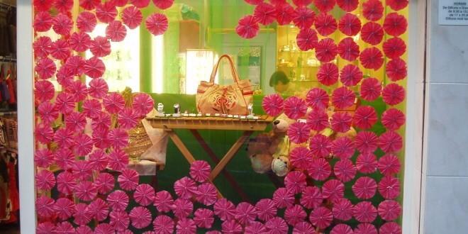 tienda Original, escaparate de primavera