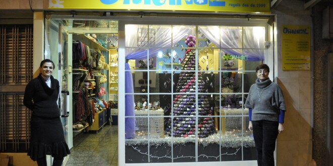 Escaparate de Navidad 2010, Original