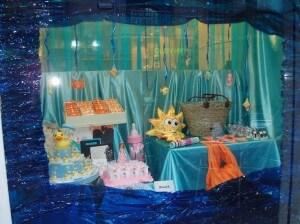 En el fondo del mar... escaparate de verano ´11 en tienda Original, foto 1