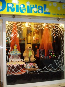 escaparate halloween en Original 2011