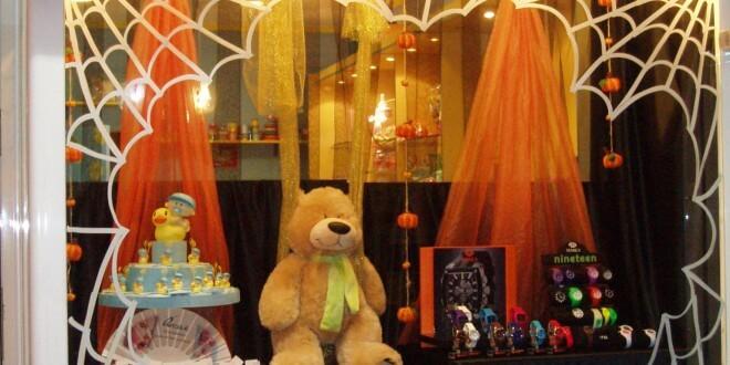 escaparate halloween en Original 2011