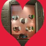 Escaparate de San Valentín por la escaparatista Neli