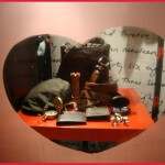 Escaparate de San Valentín realizado por Neli