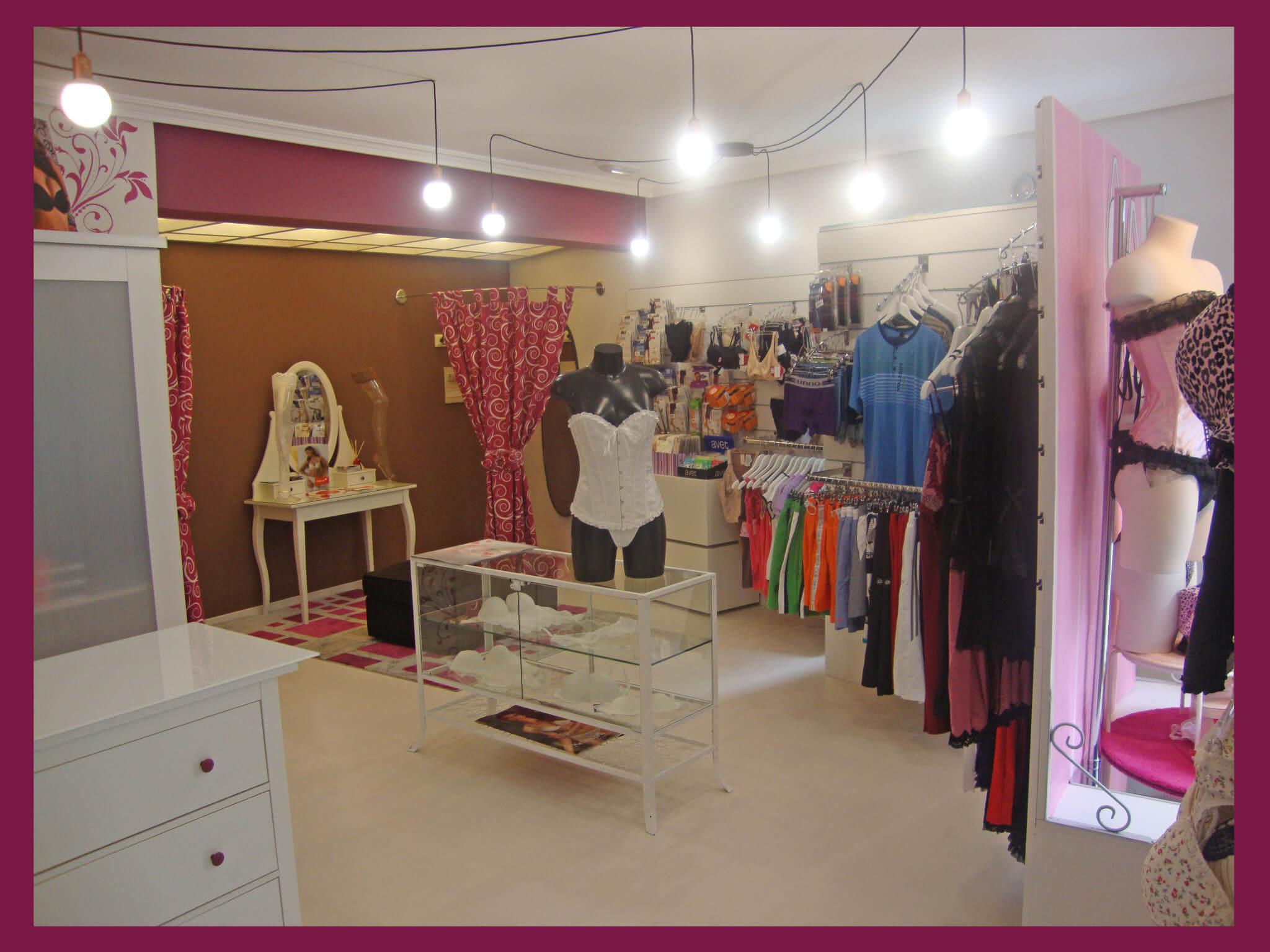 c25fc57db55a tienda Coquette Lencería – Escaparatismo y Visual Merchandising