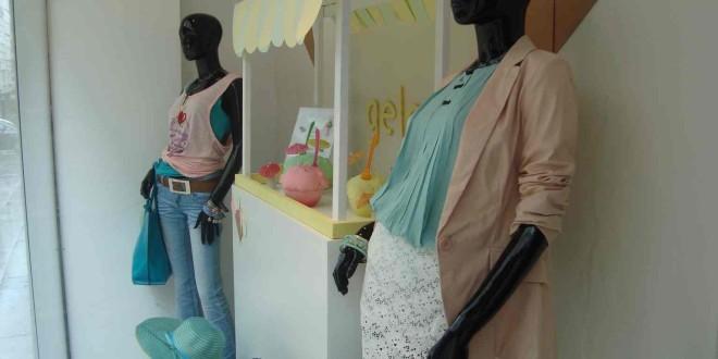 Escaparate de moda e UVE Ferrol