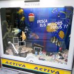 Escaparate verano '13 electrodomésticos ACTIVA por Miquel Pizarro, foto FRONTAL