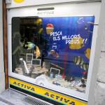 Escaparate verano '13 electrodomésticos ACTIVA por Miquel Pizarro, foto LAT-DER
