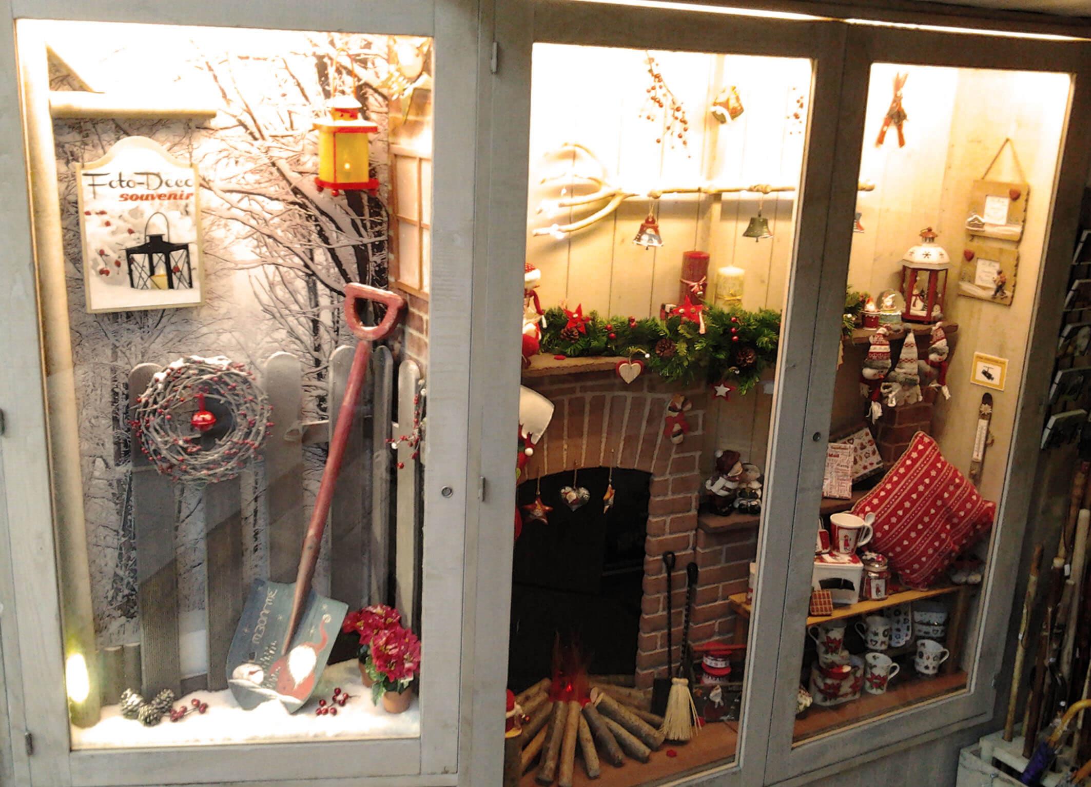 escaparate navidad a la alta monta a escaparates de navidad
