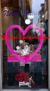 escaparate san valentin 1, Mírame Escaparatismo