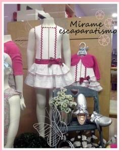 Escaparate de primavera en la tienda de moda infantil Bolboreta, foto 4