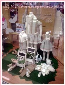 Escaparate de primavera en la tienda de moda infantil Bolboreta, foto 5