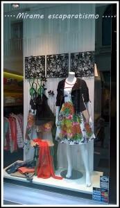 Escaparate primavera-verano 2015 en DIVELA, moda mujer en Lugo, imagen 2