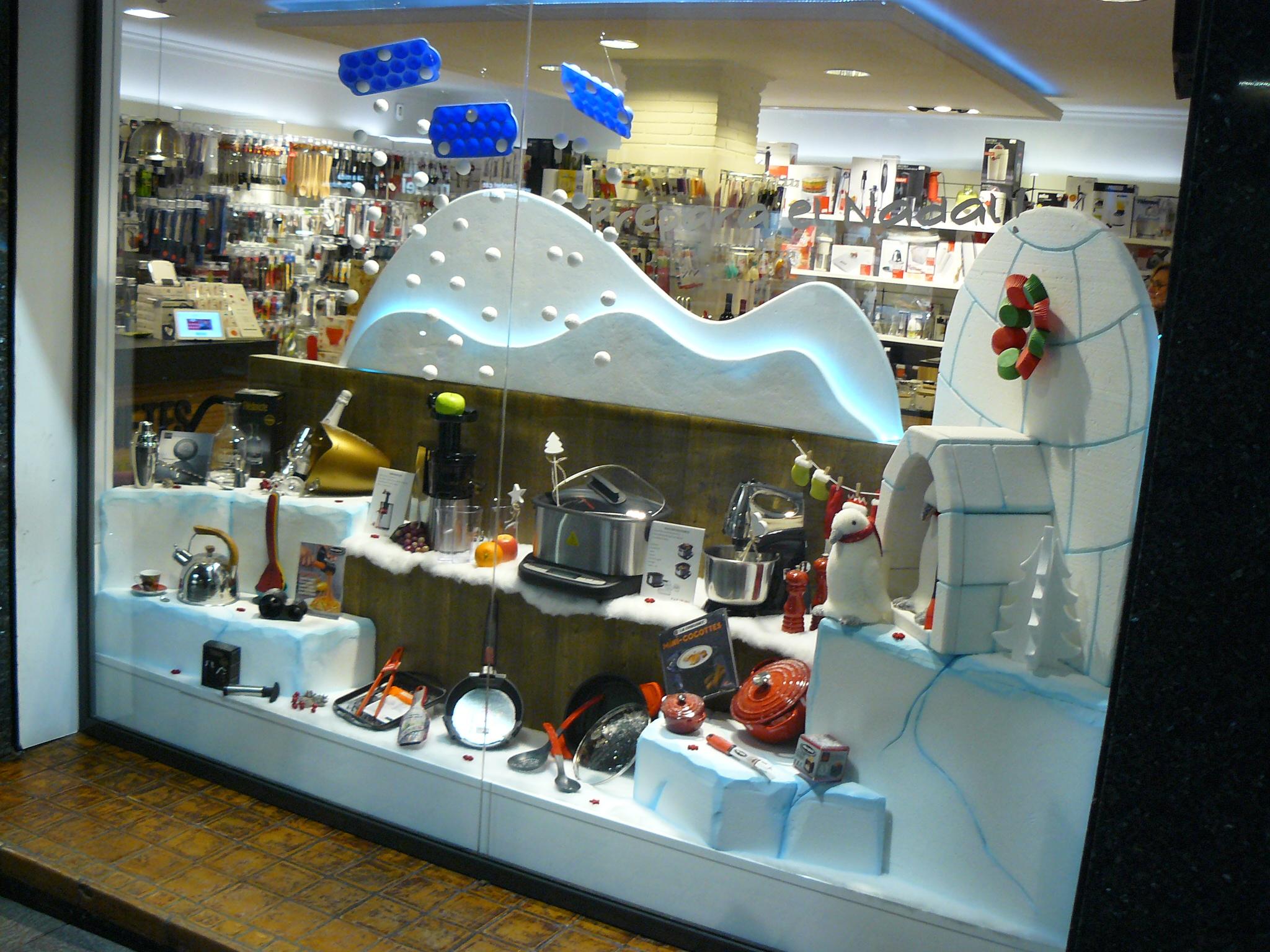 Prepara la navidad en cuinetes decoraci n de pasteler as - Decoracion navidena para comercios ...