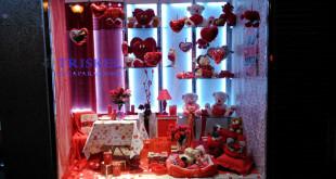 Decoración de San Valentín, Triskel Escaparatismo