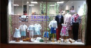 Escaparate de moda infantil por Trikel Escaparatismo