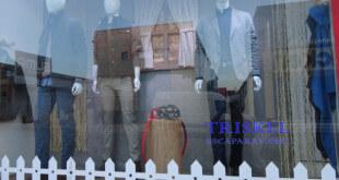 Escaparate de ropa y moda hombre, Triskel Escaparatistas
