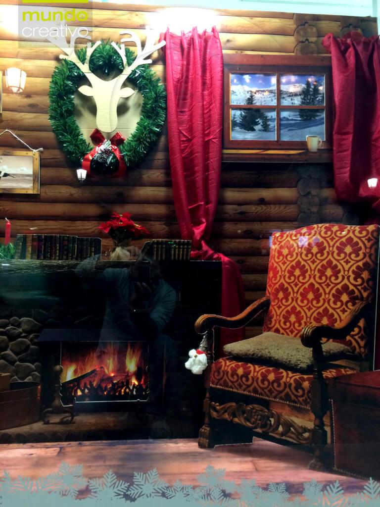 Escaparate de la temporada navideña realizado por Mundo Creativo, foto 2
