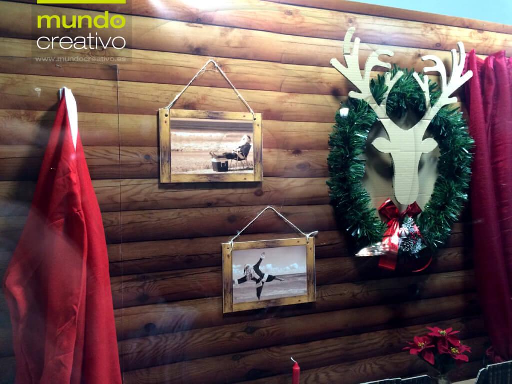 Escaparate de la temporada navideña realizado por Mundo Creativo, foto 4