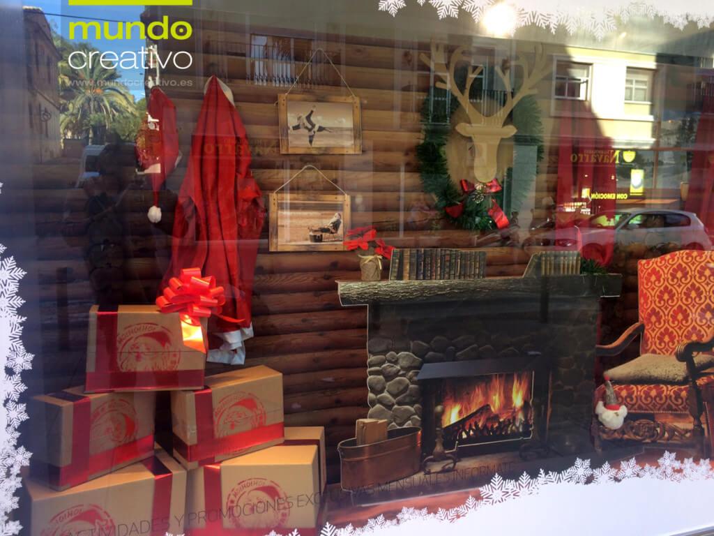 Escaparate de la temporada navideña realizado por Mundo Creativo, foto 5