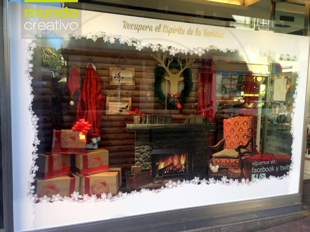 Escaparate de la temporada navideña realizado por Mundo Creativo, foto 6