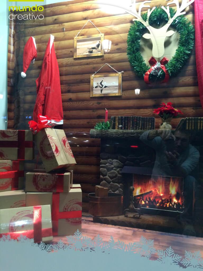 Escaparate de la temporada navideña realizado por Mundo Creativo, foto 7