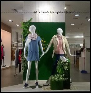 Maniquíes en escaparates de Primavera 2016 en tiendas NUA, foto 4