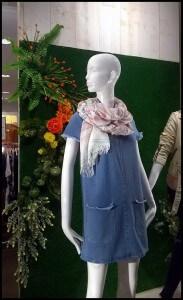 Maniquíes en escaparates de Primavera 2016 en tiendas NUA, foto 5