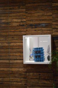 Entrada al centro óptico Veo Veo, originalidad y creatividad en la exposición de gafas