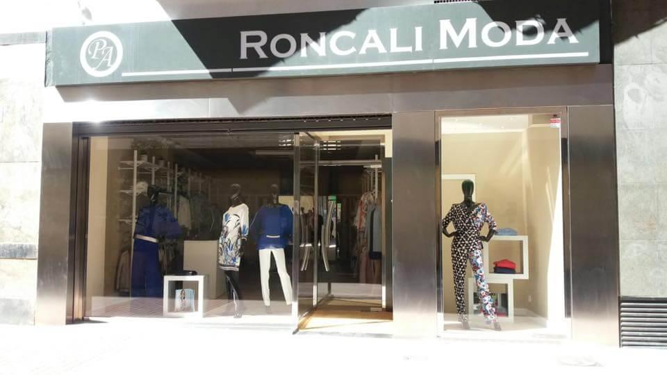 Escaparate Roncali 2, primavera moda mujer 2016