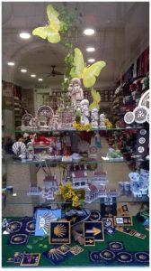 Escaparate souvenirs, regalos y artesanía gallega; Mírame escaparatismo, foto 2