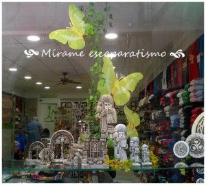 Escaparate souvenirs, regalos y artesanía gallega; Mírame escaparatismo, foto 3