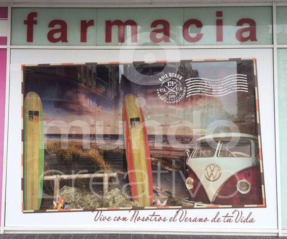 Escaparate de verano en Farmacia; vive con nosotros el verano de tu vida, imagen 4