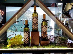 Decoración de stand para vinos en Feria Gourmet, Madrid.