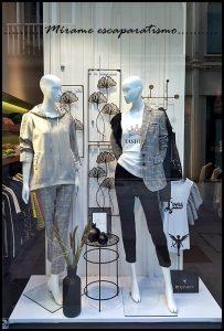 Escaparate moda mujer foto 1, Mírame escaparatismo, Lugo